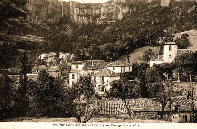 Saint-Jean-et-Saint-Paul (Aveyron) CPA Saint-Paul-des-Fonts