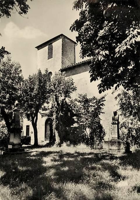 Saint-Jean-et-Saint-Paul (Aveyron) CPA Saint-Paul-des-Fonts, église