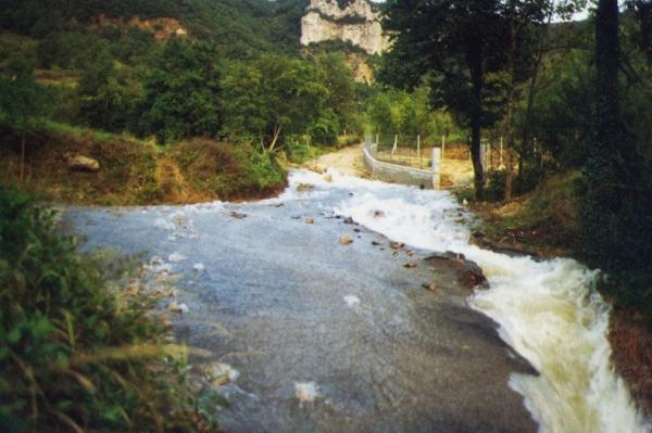 Saint-Jean-et-Saint-Paul (Aveyron) Inondations