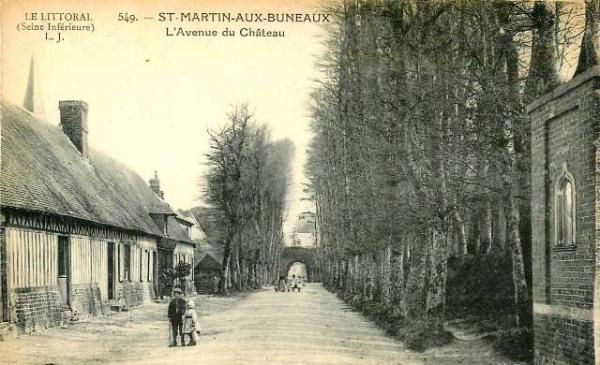 Saint-Martin-aux-Buneaux (Seine Maritime) Avenue du château