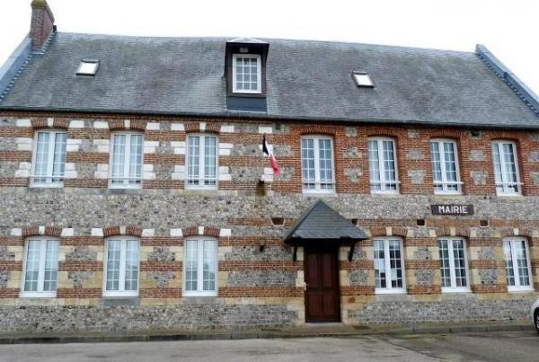 Saint-Martin-aux-Buneaux (Seine Maritime) Mairie (ancien presbytère)