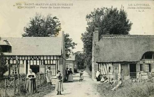 Saint-Martin-aux-Buneaux (Seine Maritime) Vinchigny CPA