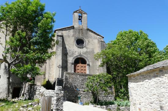 Saint-Maurice-Navacelles (Hérault) Navacelles,  La chapelle Notre-Dame