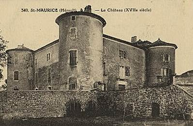 Saint-Maurice-Navacelles (Hérault) Le château CPÄ