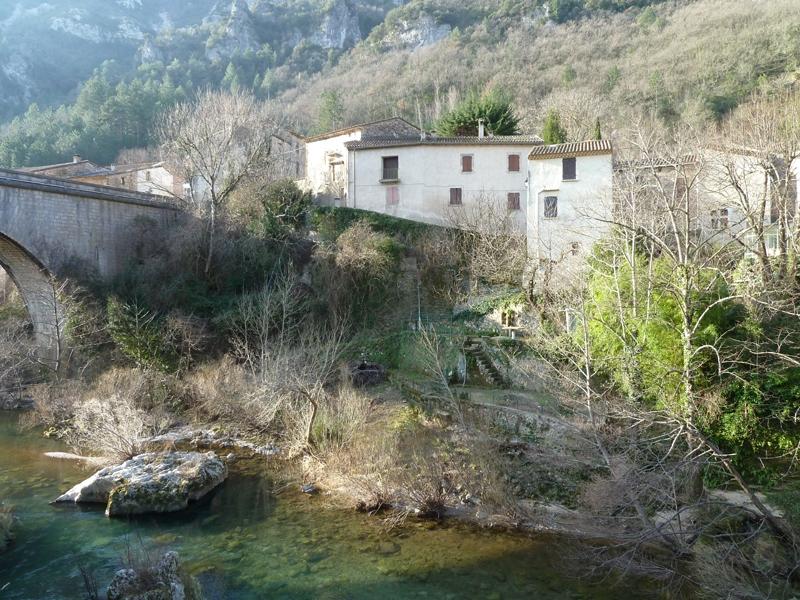 Saint-Maurice-Navacelles (Hérault) Madières, l'ancien presbytère