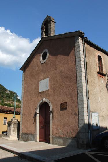 Saint-Maurice-Navacelles (Hérault) Madières, L'église St Sauveur
