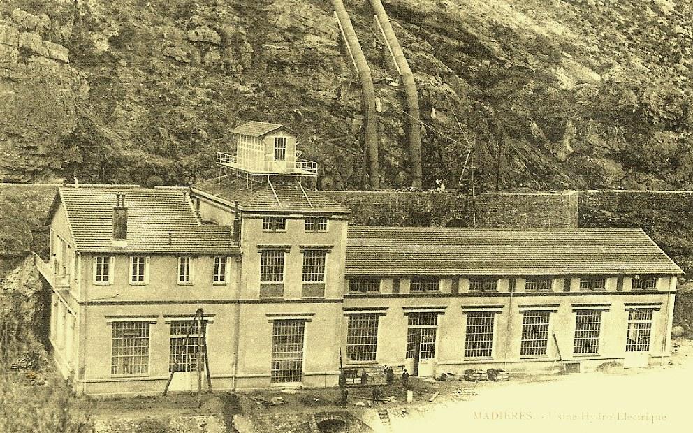 Saint-Maurice-Navacelles (Hérault) Madières, l'usine CPA