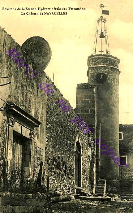 Saint-Maurice-Navacelles (Hérault) Navacelles, le château