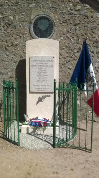 Saint-Pierre-de-la-Fage (Hérault) Le monument aux morts