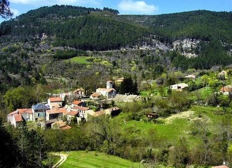 Saint-Pierre-de-la-Fage (Hérault) Parlatges, vue générale