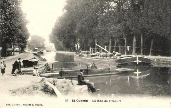 Saint-Quentin (Aisne) CPA le bac de Rocourt