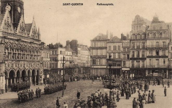 Saint-Quentin (Aisne) CPA le centre ville