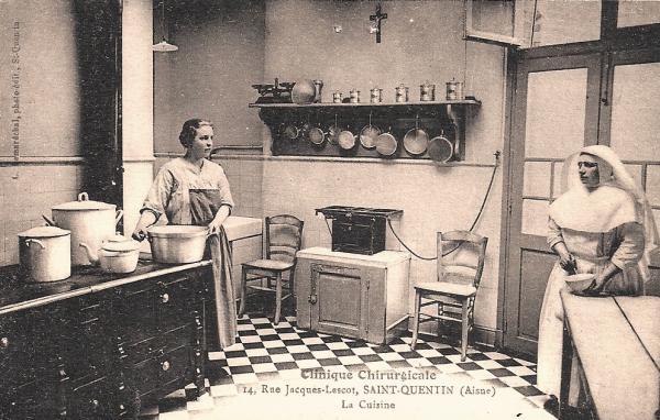 Saint-Quentin (Aisne) CPA la cuisine de la clinique
