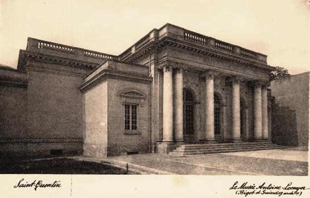 Saint-Quentin (Aisne) CPA le Musée Antoine Lécuyer