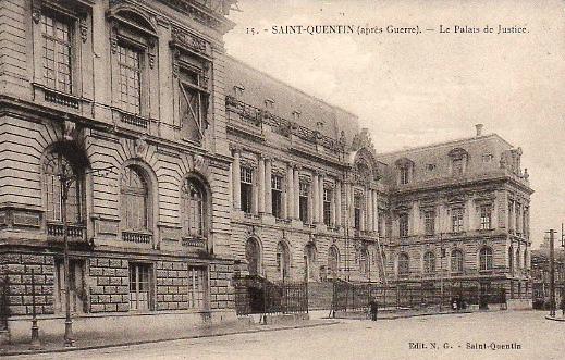 Saint-Quentin (Aisne) CPA le Palais de justice
