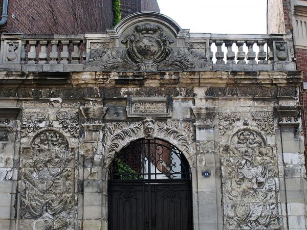 Saint-Quentin (Aisne) la porte des Canonniers