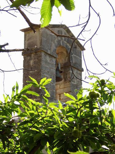 Saint-Roman-de-Codières (Gard) Le clocher du Temple