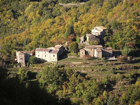 Saint-Roman-de-Codières (Gard) Le mas de la vallée du Savel