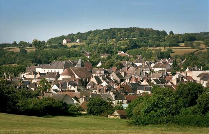 Saint-Saulge (Nièvre) Vue générale
