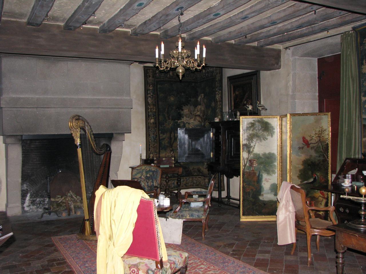 Saint-Sulpice-le-Verdon Logis de la Chabotterie (74)