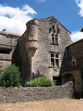 Sainte-Eulalie-de-Cernon (Aveyron) La Commanderie, échauguette