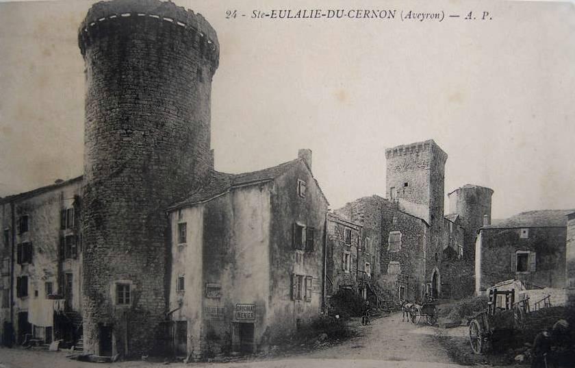 Sainte-Eulalie-de-Cernon (Aveyron) CPA