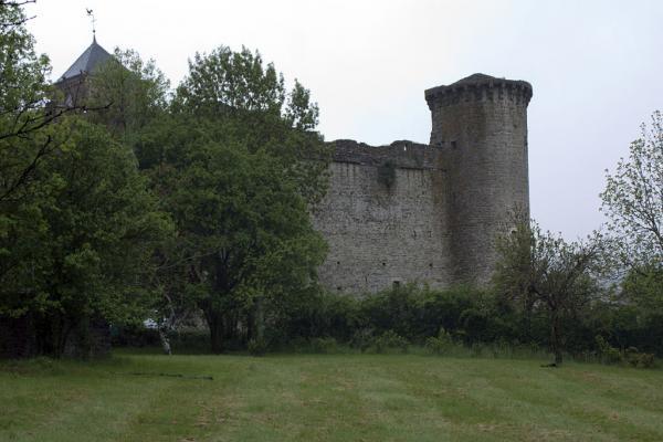 Sainte-Eulalie-de-Cernon (Aveyron) La Commanderie, tour Nord-Ouest