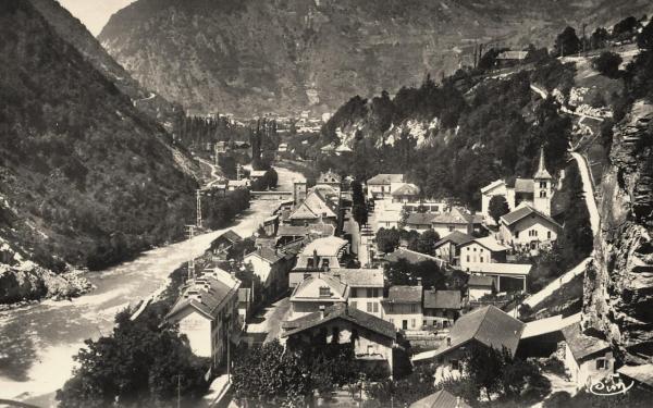 Salins-Fontaine (Savoie)Vue générale CPA