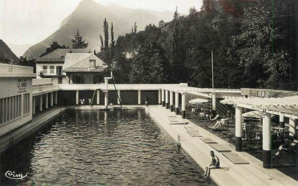 Salins-Fontaine (Savoie) Les thermes CPA