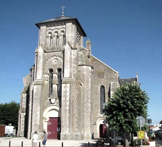 Sallertaine (Vendée) L'église Saint Martin nouvelle