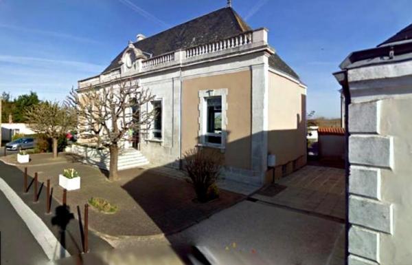 Sallertaine (Vendée) La Mairie en 2010