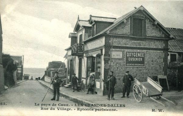 Les Grandes-Dalles, l'épicerie CPA