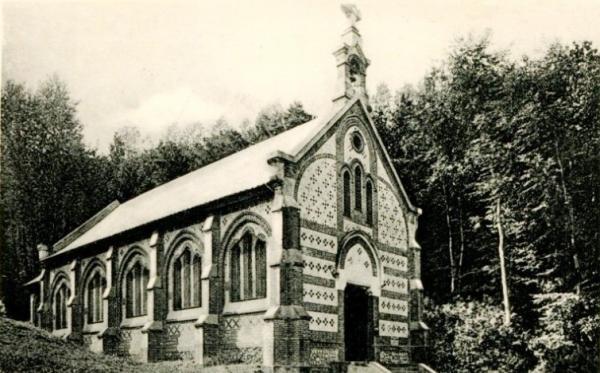 Les Petites-Dalles, la chapelle CPA