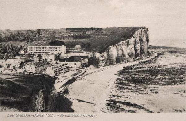 Les Grandes-Dalles, le sanatorium marin CPA