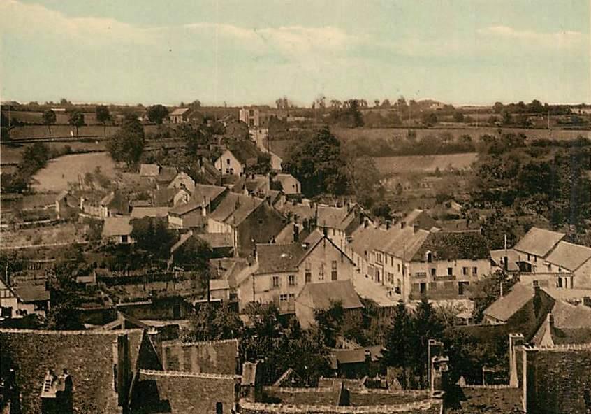 Saulieu (Côte d'Or) Faubourg Saint-Félix