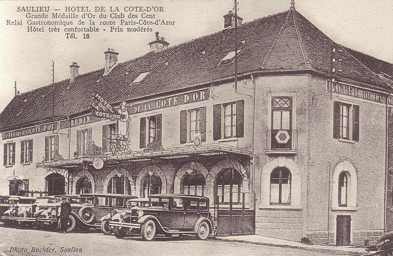 Saulieu (Côte d'Or) L'Hôtel de la Côte d'Or CPA