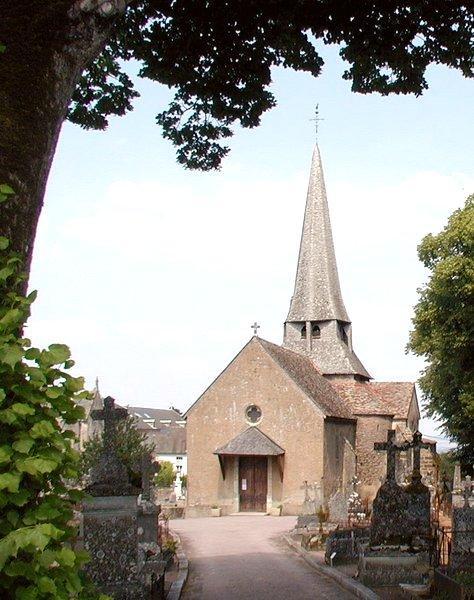 Saulieu (Côte d'Or) Léglise Saint-Saturnin