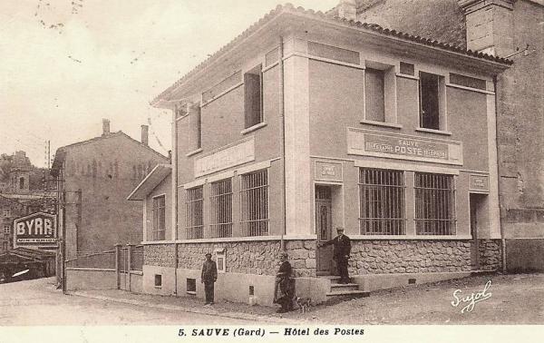 Sauve (Gard) CPA La Poste
