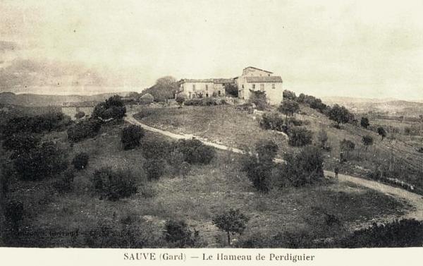 Sauve (Gard) CPA Perdiguier