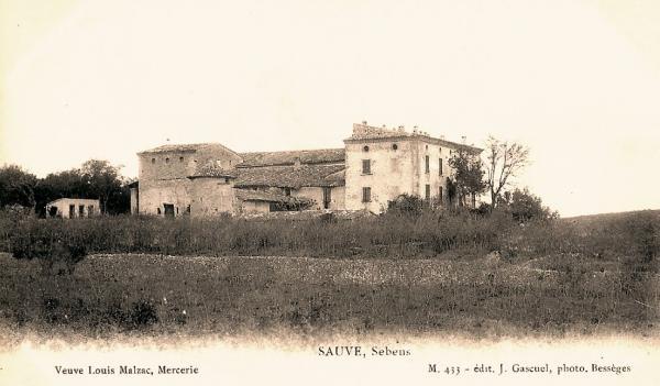 Sauve (Gard) CPA Sebens