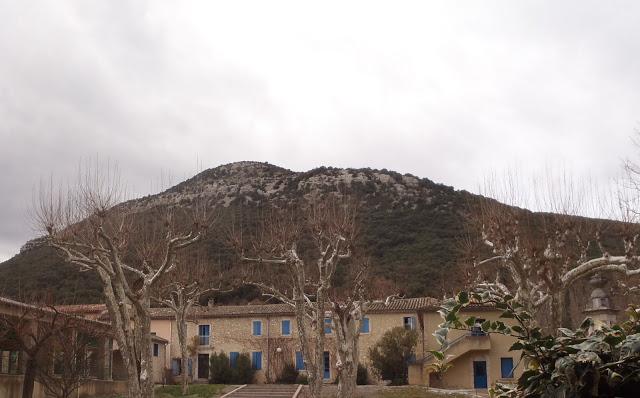 Sauve (Gard) Fonsange-les Bains, les thermes