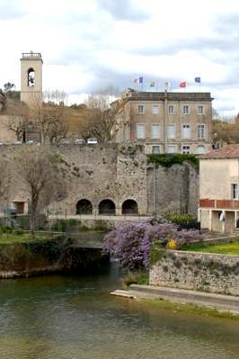 Sauve (Gard) L'Hôtel-de-Ville