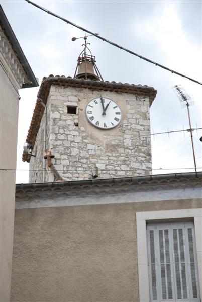 Sauve (Gard) La tour de l'horloge