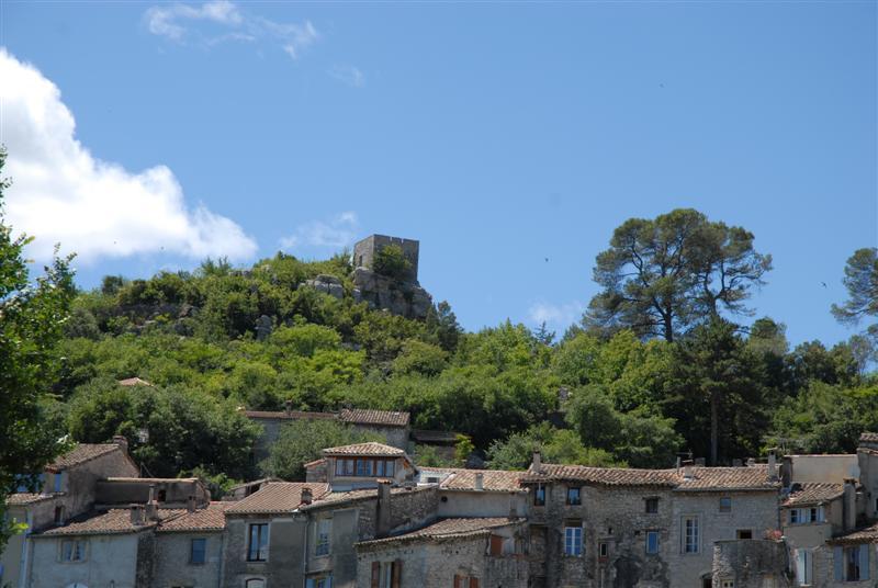 Sauve (Gard) Le Castellas