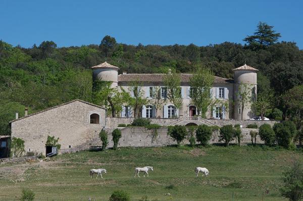 Sauve (Gard) Le château de Valfons