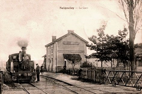 Seignelay (89) La gare