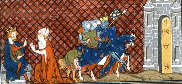 Louis VI, siège de Clermont par ses troupes