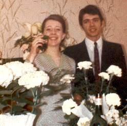 Maisons-Alfort : Alain Soudan et Roseline Bourrié, fiançailles 1968