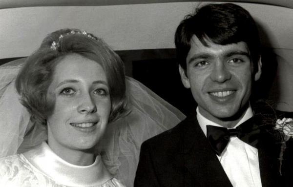 Maisons-Alfort : Alain Soudan et Roseline, mariage 1970
