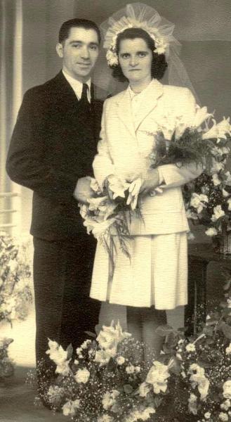 Soudan André et Denise Mayer-Soudan 1947